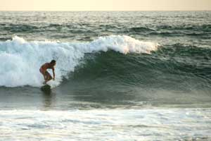 Playa Grande is one of the best spurf spots of Costa Rica.