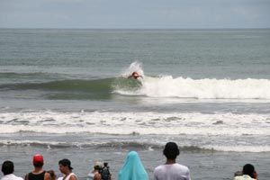 The Grand Final Reef National Surf Championship 2013 was held at Playa Hermosa.