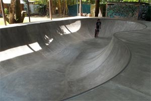 Skatepark in Jaco