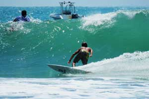 With the right swell Manuel Antonio can get some decent waves.